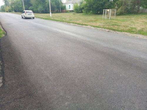 На Черкащині ремонтують автомобільну дорогу місцевого значення