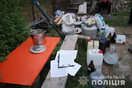Черкащанин облаштував нарколабораторію (фото, відео)
