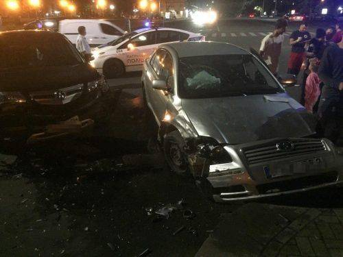 У Черкасах зіштовхнулися два автомобілі: є постраждалий (фото)