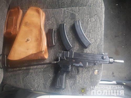 На Черкащині чоловік продавав зброю (відео)