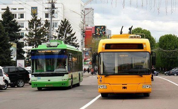 Сьогодні деякі тролейбуси курсуватимуть за зміненим маршрутом