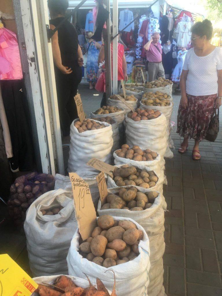 За скільки продають картоплю на Черкащині