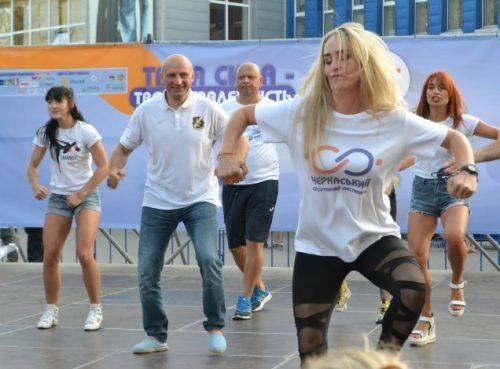 У Черкасах установили танцювальний рекорд (фото)