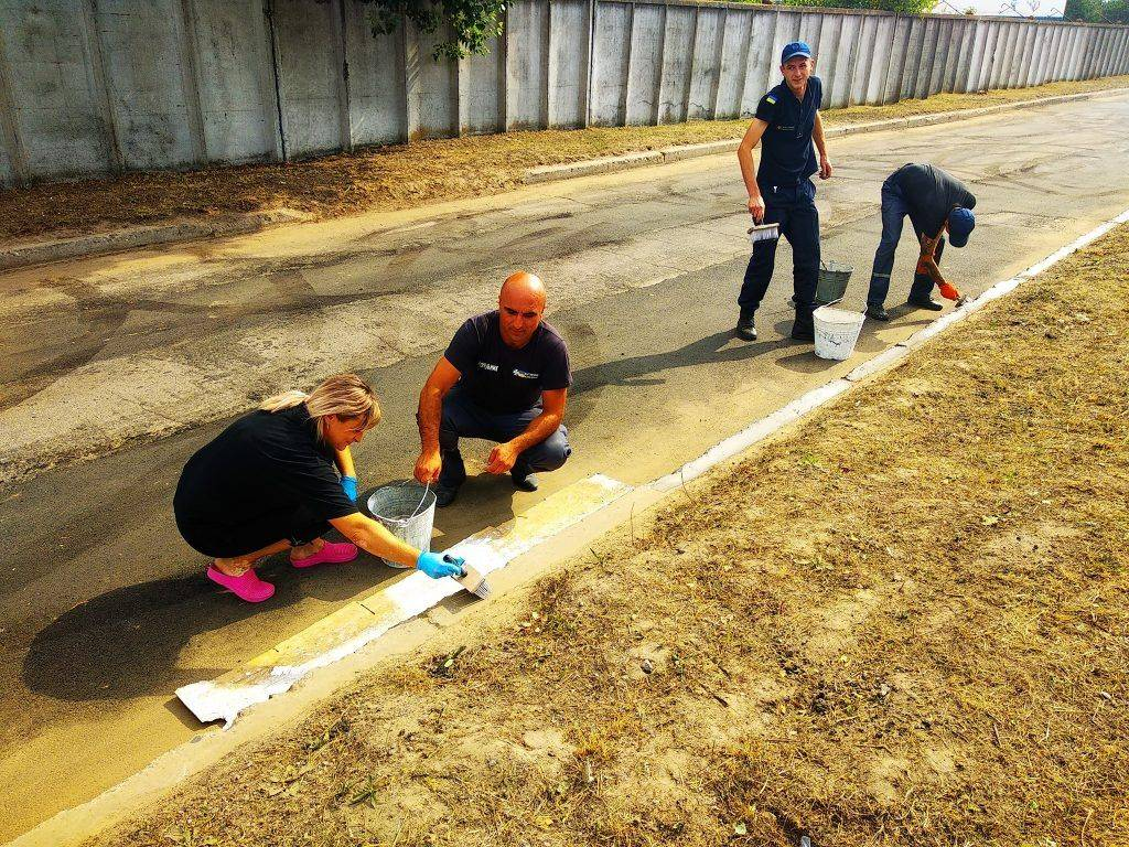 У Черкасах відремонтували дорогу, якою щодня їздять рятувальники (фото)