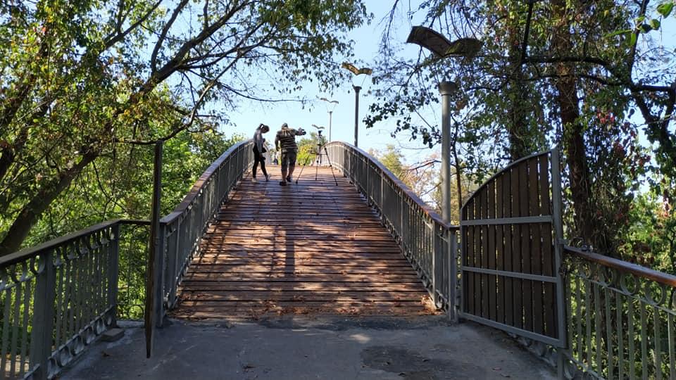 У Черкасах відкрили Міст кохання (фото)