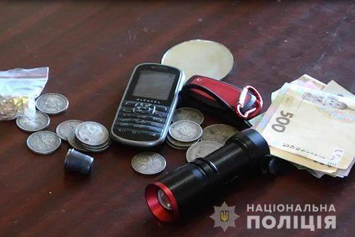 Черкащанин викрав у жінки колекцію старовинних монет (фото, відео)