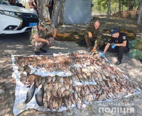 На Черкащині незаконно виловлювали рибу (фото)
