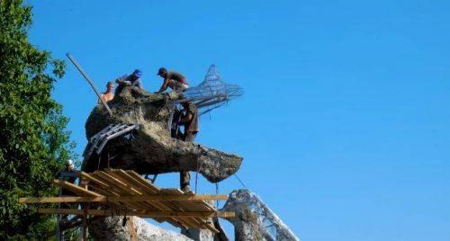 Автор проекту розповів секрети про будівництво драконів у «Новій Софіївці» на Черкащині (відео)