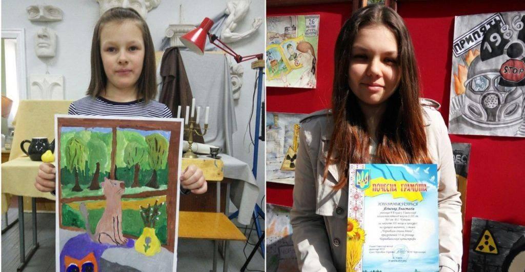 Вчитель школи на Черкащині навчає та виховує учнів за допомогою сучасних технік мистецтва (фото)