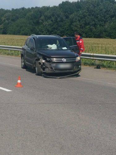 На Черкащині в ДТП постраждала дитина (фото)