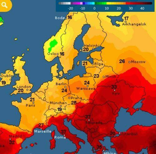 Синоптики розповіли, якою буде погода на Черкащині на цьому тижні