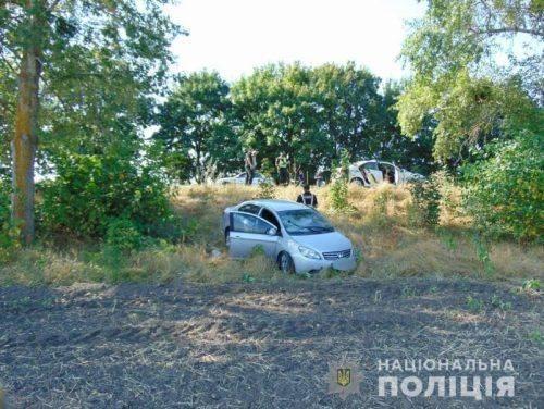 На Черкащині під час оформлення ДТП чоловік побив поліцейського