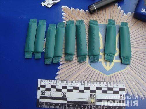 На Черкащині чоловік розповсюджував наркотики (фото, відео)