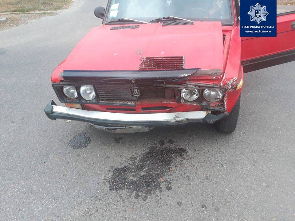 У Черкасах зіткнулися ВАЗ та Suzuki (фото)