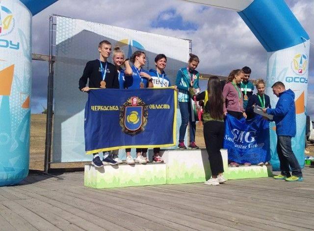 Черкаські орієнтувальники тріумфували на всеукраїнських змаганнях