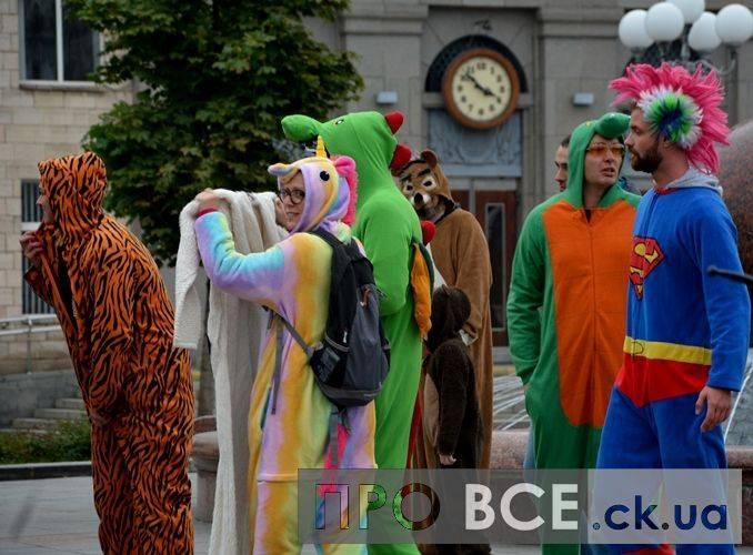 У Черкасах пройшов незвичайний парад (фоторепортаж)