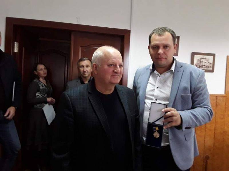 Головного лікаря черкаської лікарні нагородили медаллю