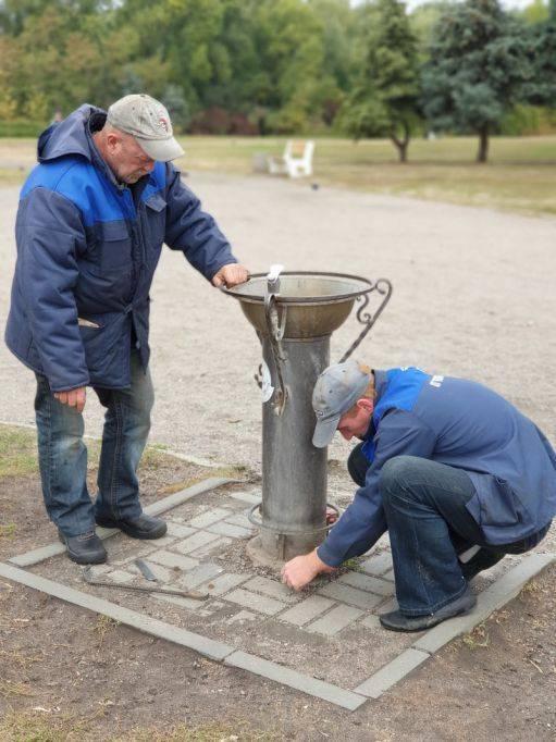 У Черкасах демонтували питні фонтанчики (фото)