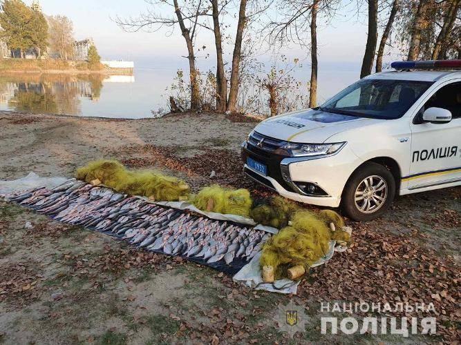 На Черкащині браконьєр наловив риби на понад 38 тис. грн