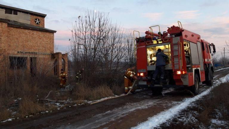 У Жашкові дитина випадково підпалила будинок