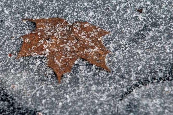 На сьогодні на Черкащині прогнозують мокрий сніг