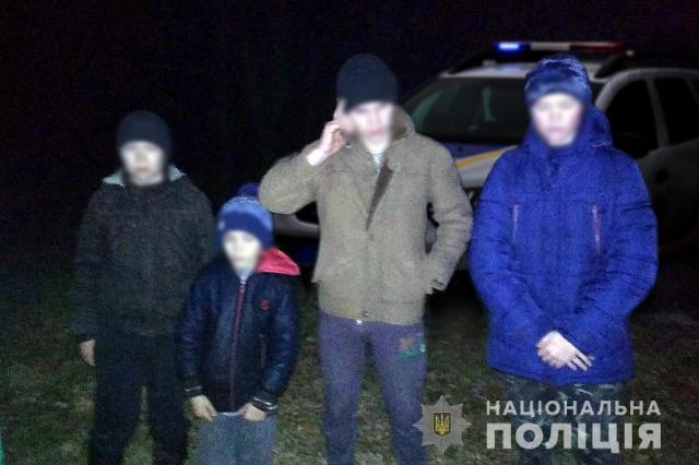 """""""Пішли гуляти в ліс та заблукали""""- поліцейські Черкащини розшукали четвірку дітей"""