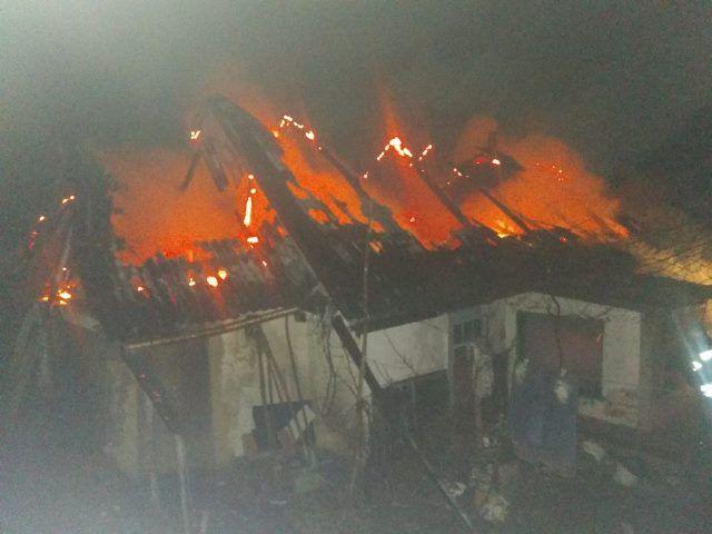 На Черкащині сталася пожежа – згорів господар будинку