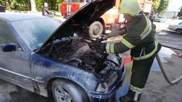 За добу на Черкащині горіло два автомобілі