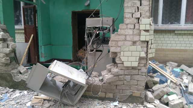 На Черкащині невідомі підірвали банкомат (фото, відео)