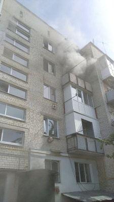 На Черкащині під час пожежі постраждала жінка