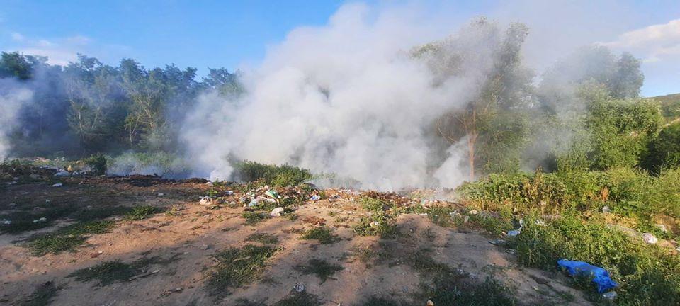 За добу на Черкащині сталося 2 пожежі на відкритих територіях