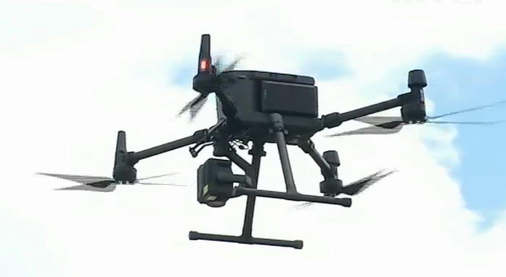 На Черкащині проходять випробування квадрокоптера, який виявляє міни