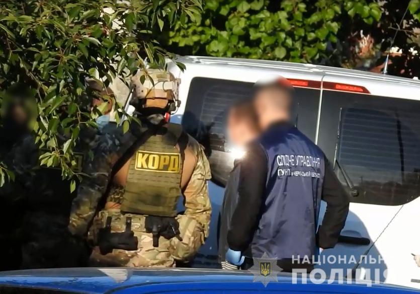 На Черкащині затримали групу зловмисників за розбій та викрадення людини