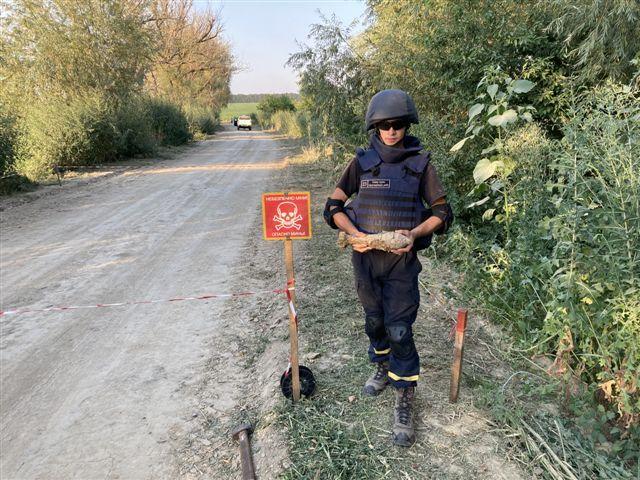 За останні дві доби на Черкащині сапери знешкодили 4 боєприпаси (фото)