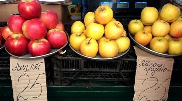Вересневі яблука на Черкащині – найдорожчі за всю історію незалежної України