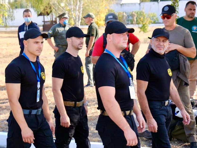 На Черкащині вперше відбувся Чемпіонат України з багатоборства тілоохоронців (фото)
