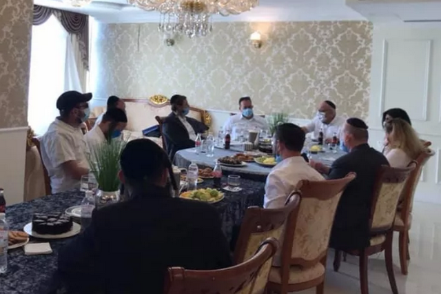 Посол Ізраїлю прибув з візитом до Умані