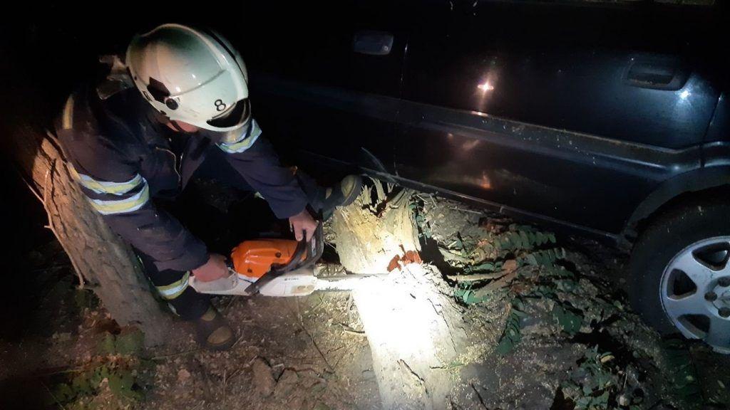 19−річного юнака, який потрапив у ДТП на Золотоніщині, врятували подушки безпеки