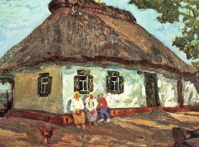 За картини художника із Звенигородщини пропонують тисячу доларів