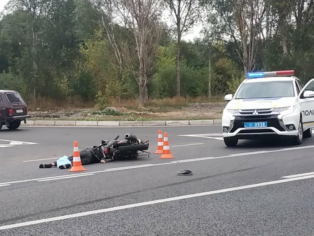 Поблизу Умані загинув 18-річний мотоцикліст (фото)