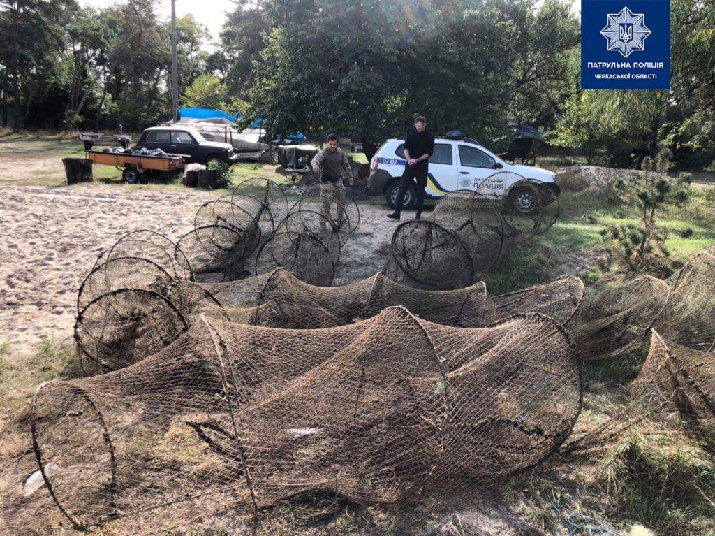 На Черкащині затримали рибного браконьєра (фото)