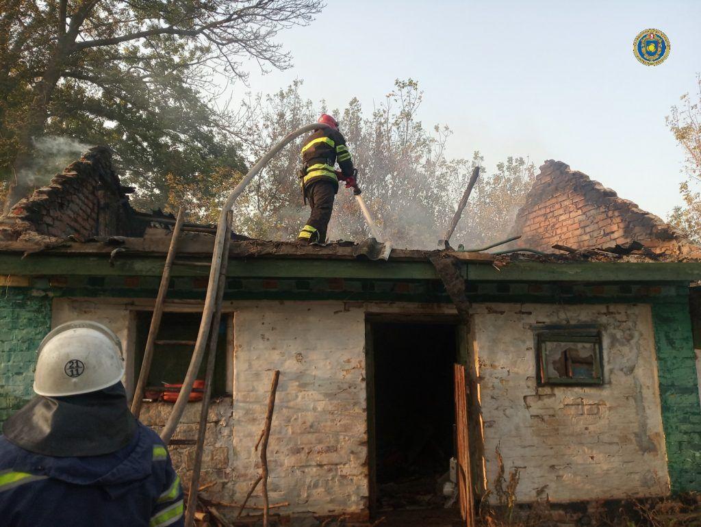 На Маньківщині дитячі пустощі з вогнем призвели до пожежі