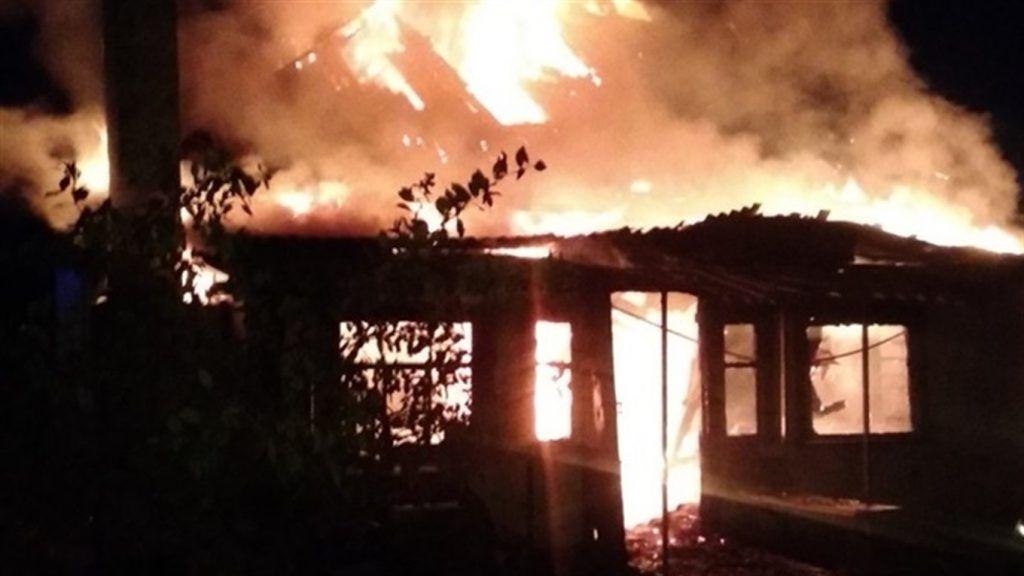 Під час пожежі на Золотоніщині постраждала дитина