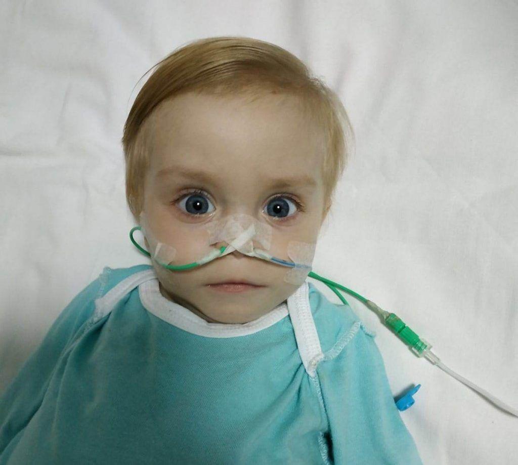 Однорічна черкащанка з тяжкою вродженою хворобою потребує допомоги