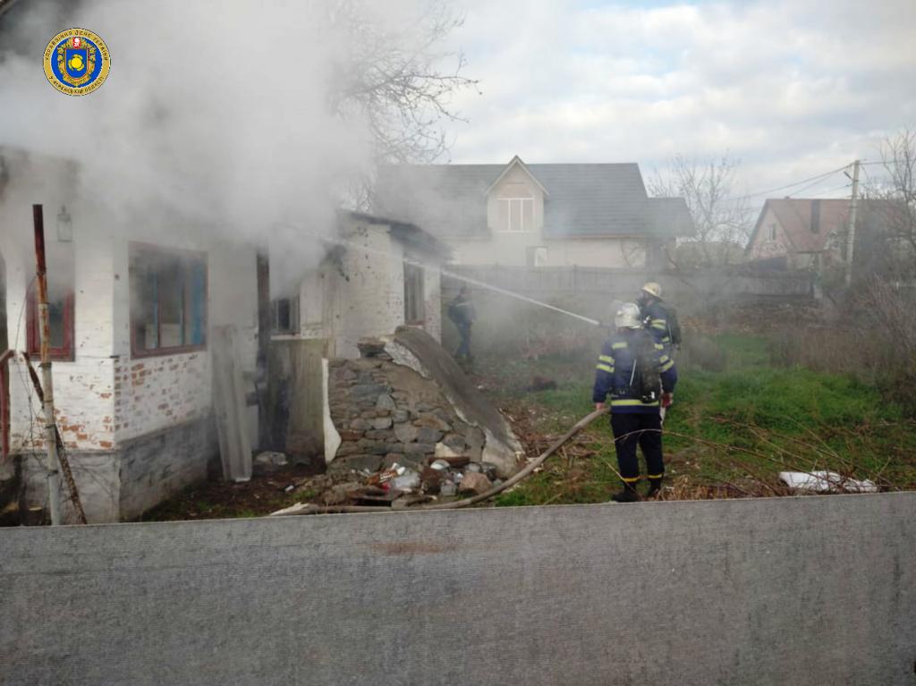 У Тальному під час пожежі загинув чоловік (фото)
