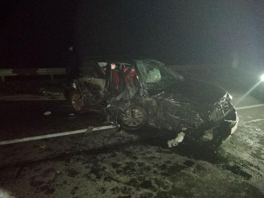 Виїхав на зустрічну смугу та на повному ходу протаранив машину – деталі смертельного ДТП на Уманщині (відео)