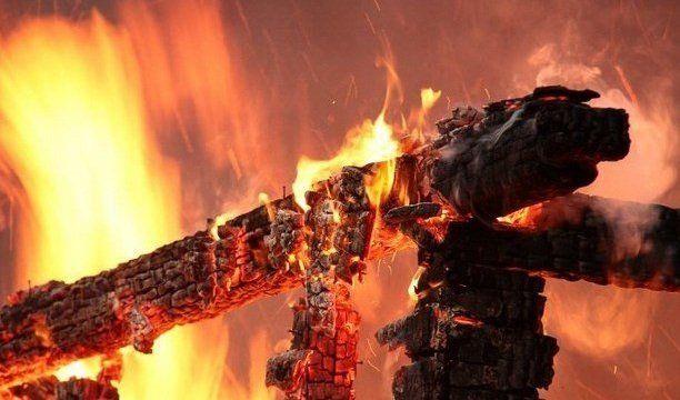 На Черкащині через несправну піч горіла лазня