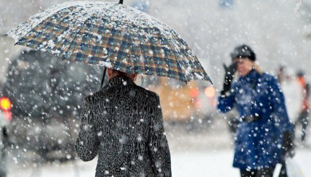 Мокрий сніг та дощ: на Черкащині прогнозують опади