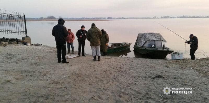 Черкаські поліціянти затримали браконьєрів
