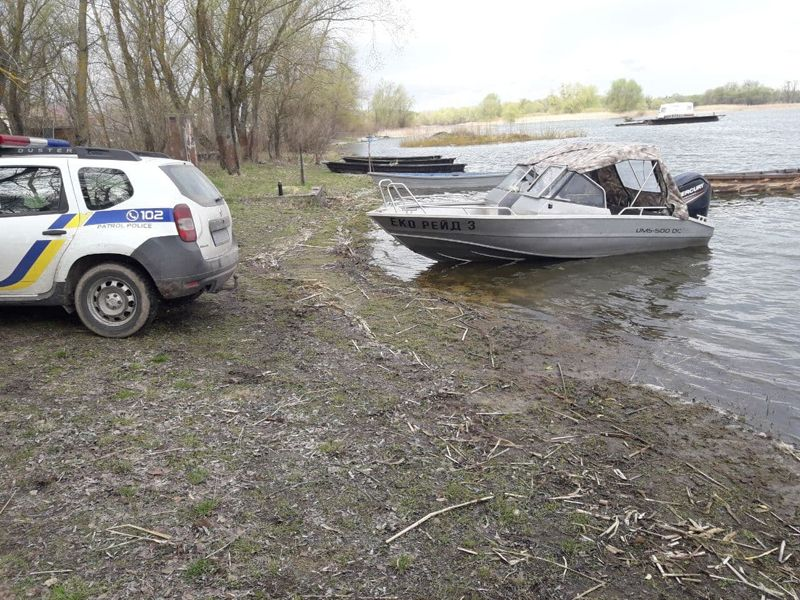 На Черкащині затримали двох рибних браконьєрів